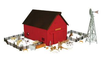 1:64 M4 Western Barn Playset