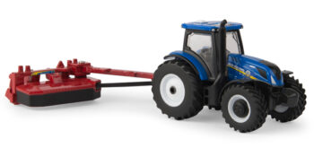 1:64 New Holland T6.175 & H7230 Mower-Conditioner