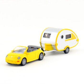 vw beetle convertable with caravan