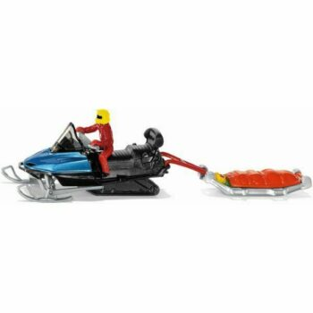 SnowMobile & Trailer with Driver Approx 1:64