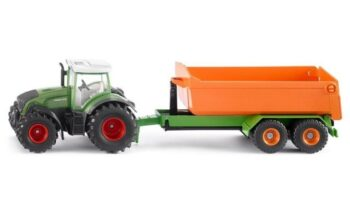 1:50 Fendt with Hooklift Trailer