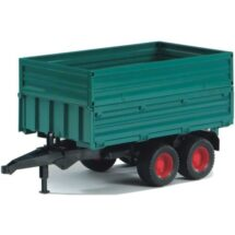 1:16 Welger Double Axle Tipping Trailer - removable top