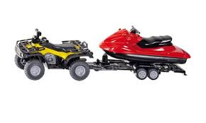 1:50 Quad with Trailer & Jet-ski