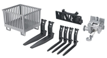 Accessories for frontloader: box-type pallet