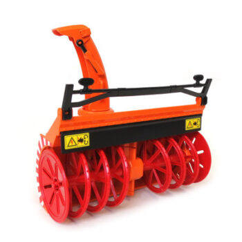 Snow Blower with adjustable shute and moving auger