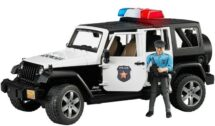Police Jeep with Lights & Officer with Equipment