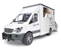 MB Sprinter animal transporter including 1 horse