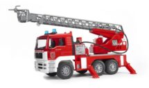 MAN fire engine with water pum and light and sounds module