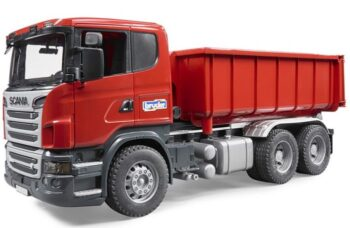 Scania-R-Series tipping container truck