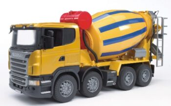 Scania-R-Series cement mixer truck