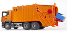 Scania-R-Series garbage truck Orange