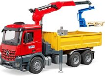 MB Arcos construction truck with crane and accessories