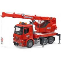 MB Arocs Crane Truck Red With Lights & Sounds