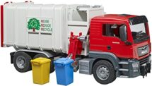 Recyleling Truck with 2 bins