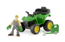 Ertl Gearforce John deere atv with rider