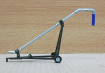Custom 1:64 Husky Pipe Cart. Limited Edition 5000 ONLY. Pipe Moves up and Down. Hose Hooks up to Husky PL490 Lagoon Pump