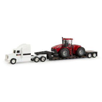 1:64 Steiger 500 Tractor with Semi & Drop Bed Trailer