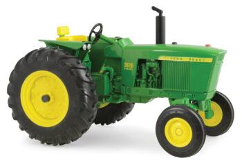 1:16 John Deere 3020 Diesel wide front Tractor. Die cast metal replica. Ertl.