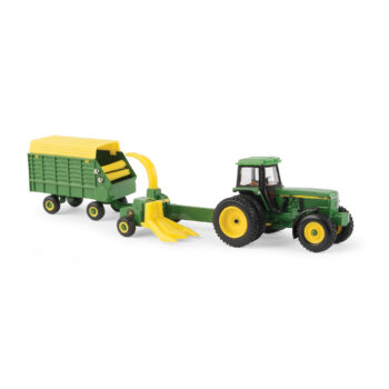 1/64 John Deere 4960 with Forage Harvester and wagon