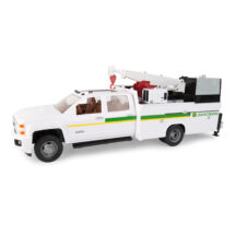 Chevrolet 3500 Dealership Service Truck with Crane