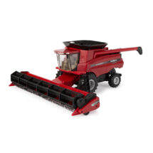 Case 8230 Axial-Flow Combine with grain header