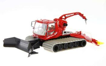 Pistenbully 600 Snow Groomer with Crane