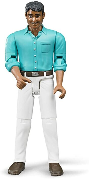 man with white pants
