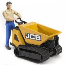 JCB Dumper HTD-5 and construction worker
