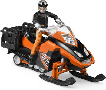 Bruder Bs77 Snowmobile & Driver