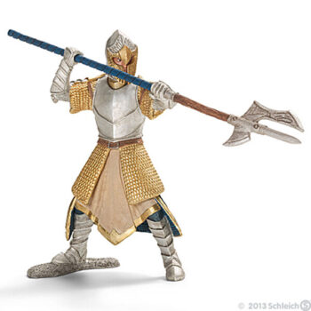 Griffin Knight with Pole-arm