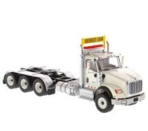 1:50 Cat International HX620 Tridem  Tractor White