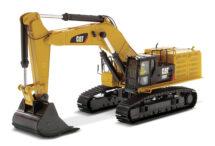 CAT 390F L Hydraulic Excavator in collector's tin