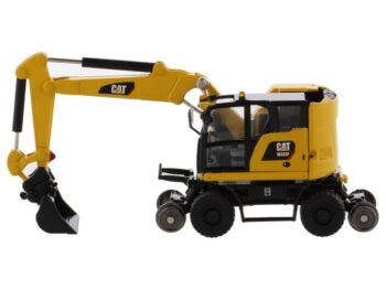 Cat M323F Railroad Wheeled Excavator