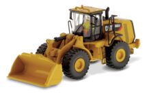 Cat 966 M Wheel Loader with Driver & Collectors Tin