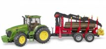John Deere 7930 Tractor with Forestry Trailer